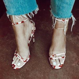 Zara brand heels